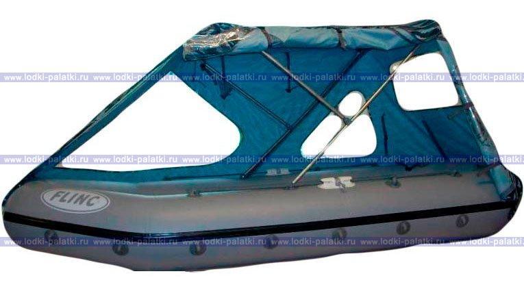 Как самому сделать тент для надувной лодки 510